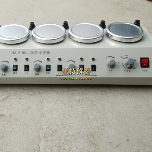 HJ-6磁力加热搅拌器