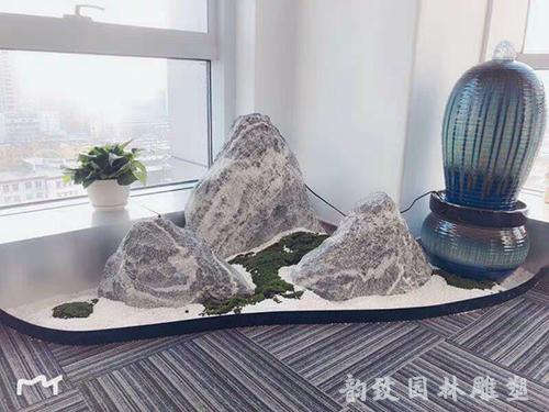 雪浪石组合大型景观石