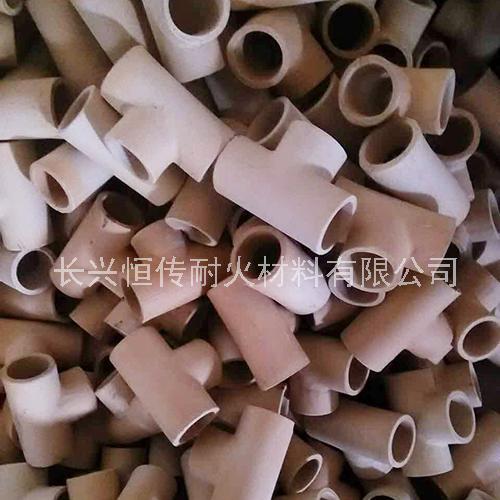 铸造高温耐火材料高铝陶瓷弯管