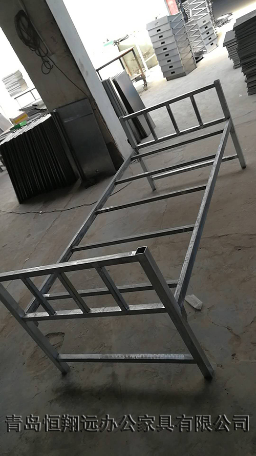 单人单层铁架床