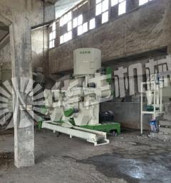 湖北在建时产3吨稻壳生产线