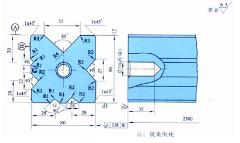 折弯机模具图