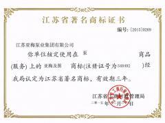 江苏省  商标
