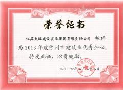 2013年度徐州市龙头企业