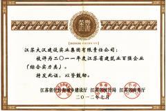 2011年江苏省百强企业