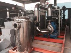 5T/H垃圾渗透液处理安装现场 黑龙江省佳木斯桦南县