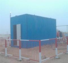 新疆塔里木油田采油厂二分厂、四分厂  10T/H 生活污水处理安装现场