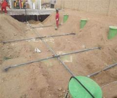 新疆塔里木油田采油厂三分厂 10T/H玻璃钢生活污水装置