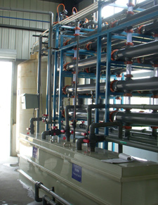 山东某电镀厂的DFQ系统