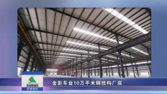 金彭车业10万平米钢结构厂房