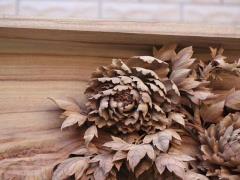 防腐木雕刻