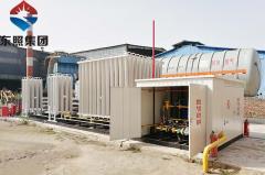 献县华顺玛钢煤改气项目案例
