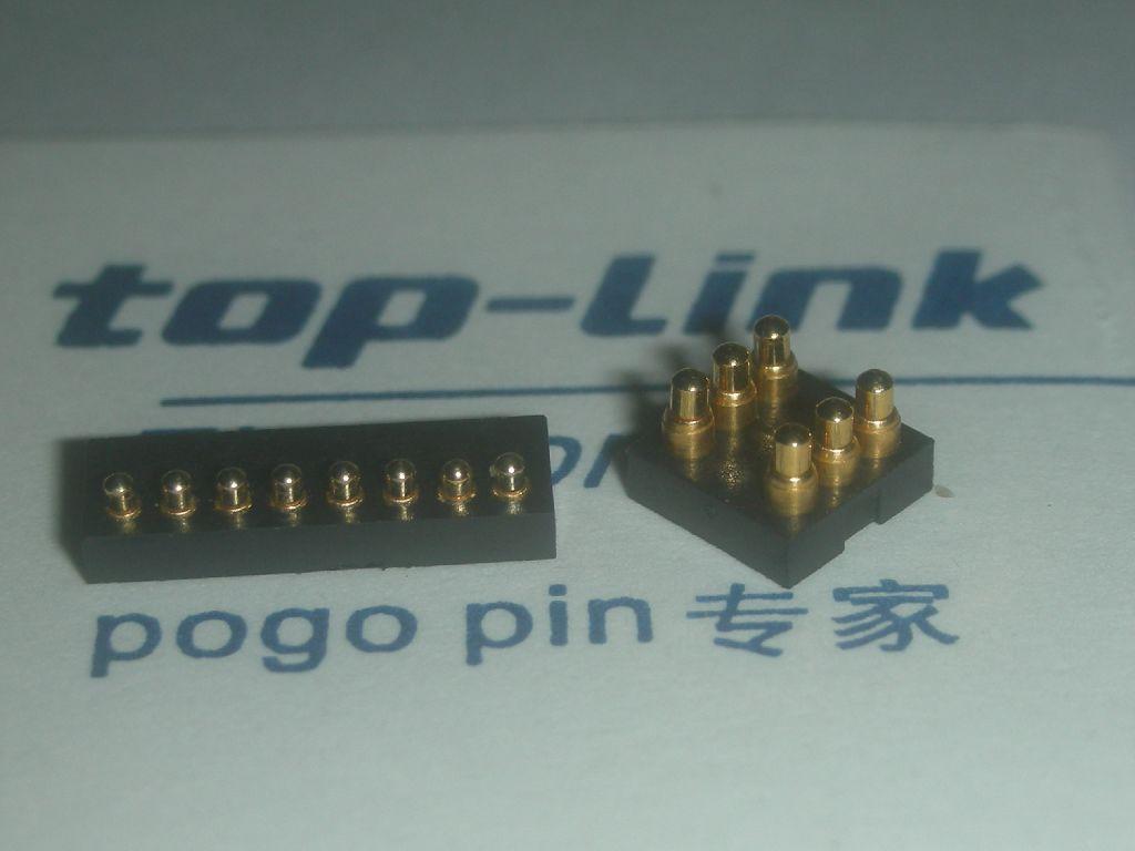 顶针连接器,pogo pin连接器,探针,弹簧针,电池座,电池连接器