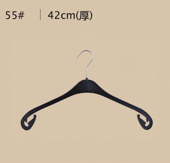 NA43塑料衣架/PP塑鉤衣架/黑色衣架/上海塑料衣架