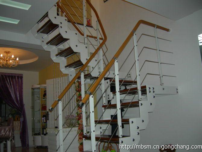 北京美波舒漫楼梯实木楼梯,钢木楼梯,异形楼梯,旋转楼梯,阁楼楼梯