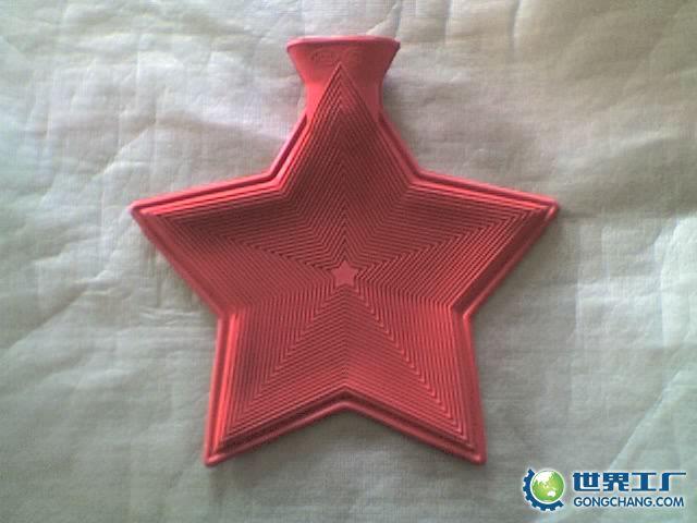 供應BUYTOP 熱水袋/五角星形 天然橡膠