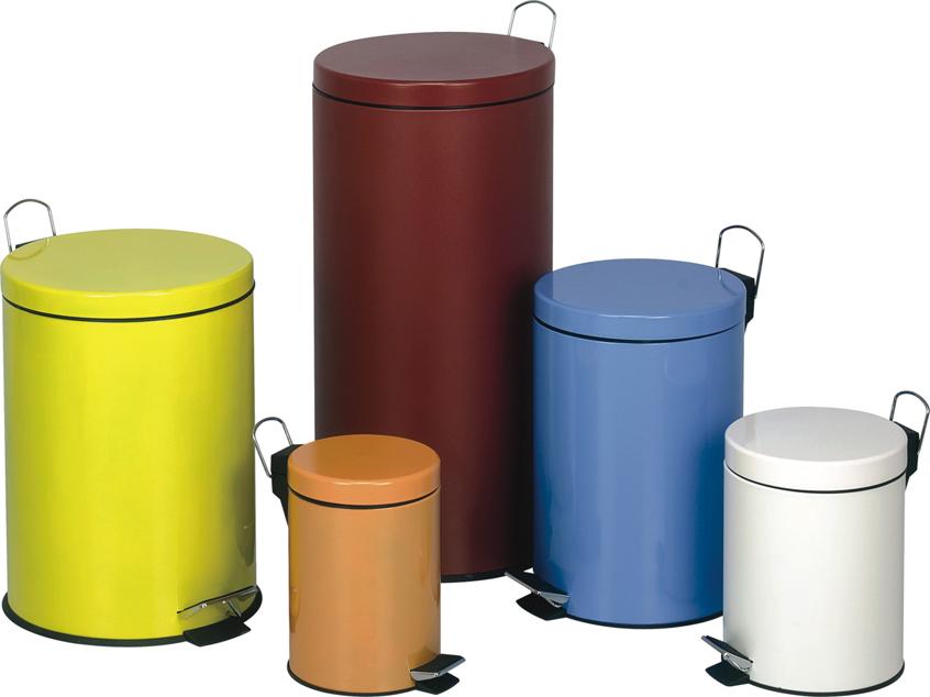 供应家用办公脚踏式垃圾桶