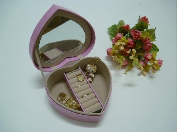 供應皮革制高檔珠寶首飾盒