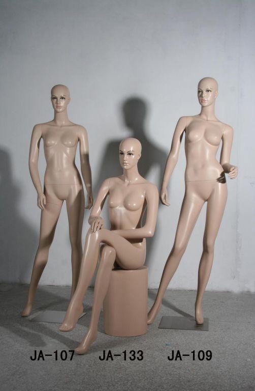 膚色化妝模特 服裝展示模特 福建模特衣架廠 時裝陳列模特 拍攝