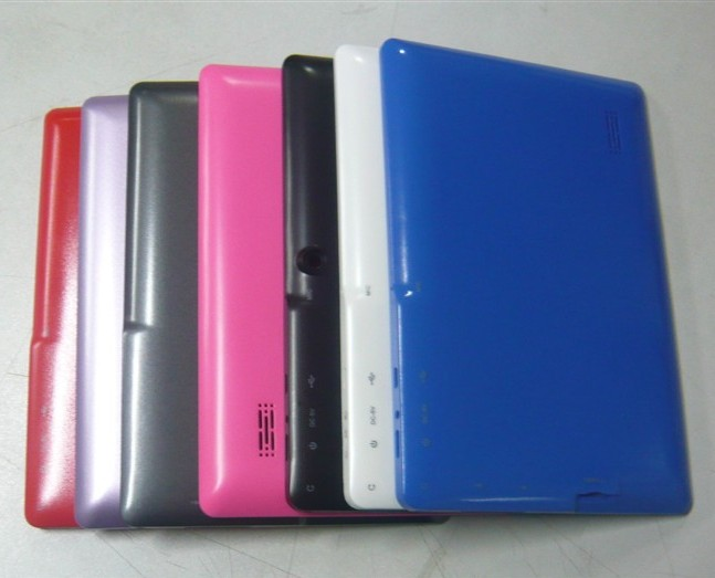 mid q88平板电脑塑胶外壳7寸hdmi高清接口塑胶面壳q88