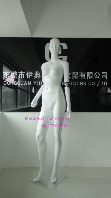 高檔內衣模特|時尚亮白玻璃鋼模特|內衣啞光模特定做