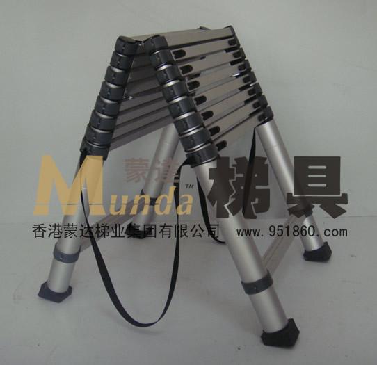 廈門2米鋁合金竹節人字伸縮梯 伸縮人字梯 人字梯子價格 人字梯