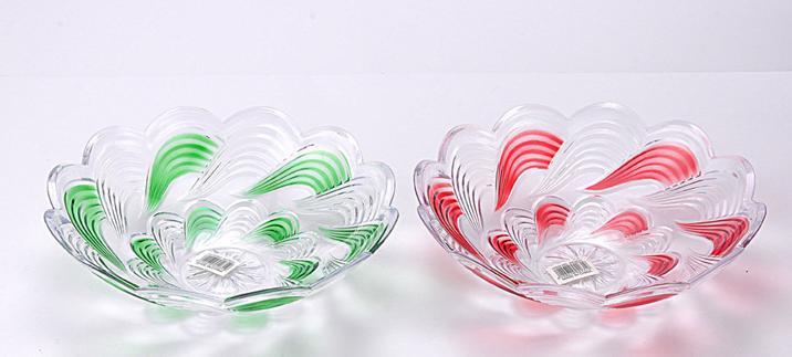 花型果盤創意塑料果盤