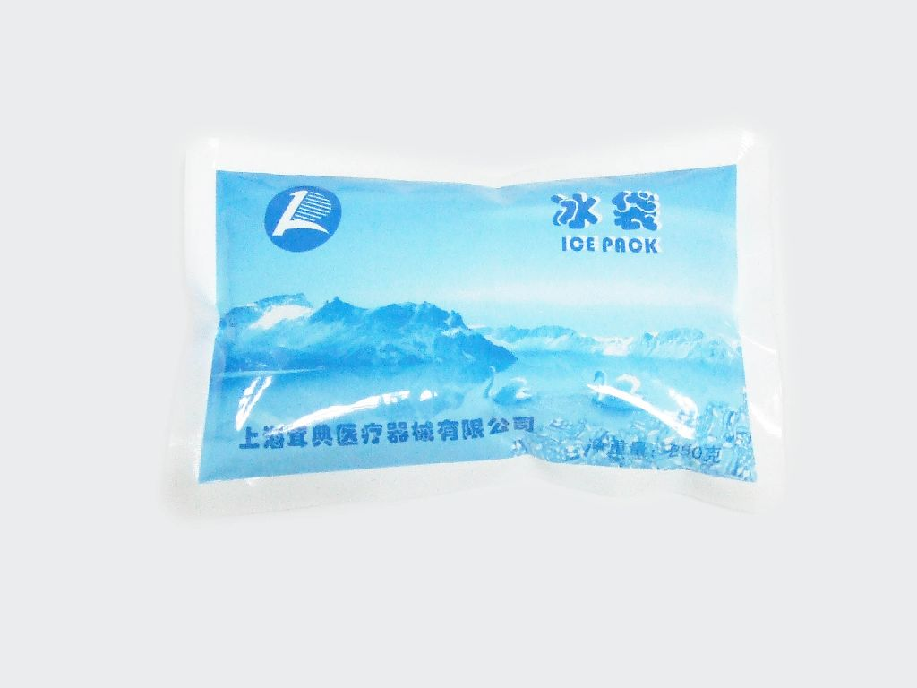 250g PE尼龍冰袋(外貿)超級冰袋 反復使用 冷敷 運輸 高效