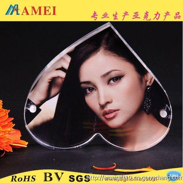 廠家批發2.4寸亞克力相框 家居有機玻璃框架 相框 禮品專業定制