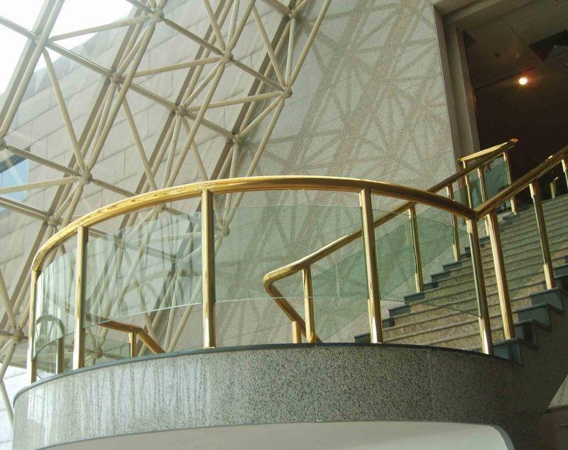 杭州不銹鋼香檳金樓梯
