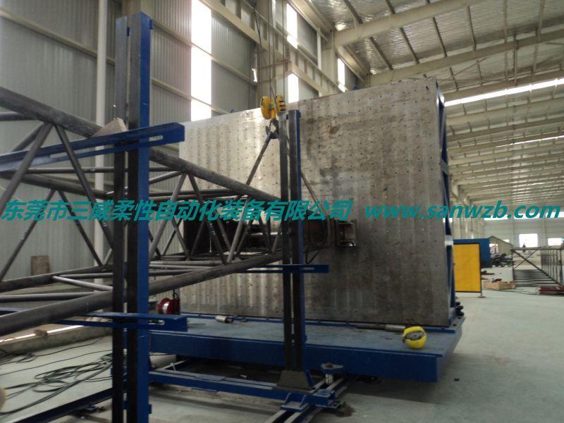 供应塔吊柔性焊接工装 臂架组对工装 臂架柔性工装胎