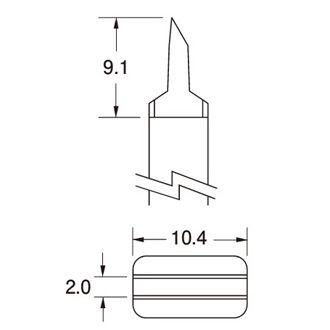 特價供應美國OKI烙鐵頭SMTC-160無鉛烙鐵頭