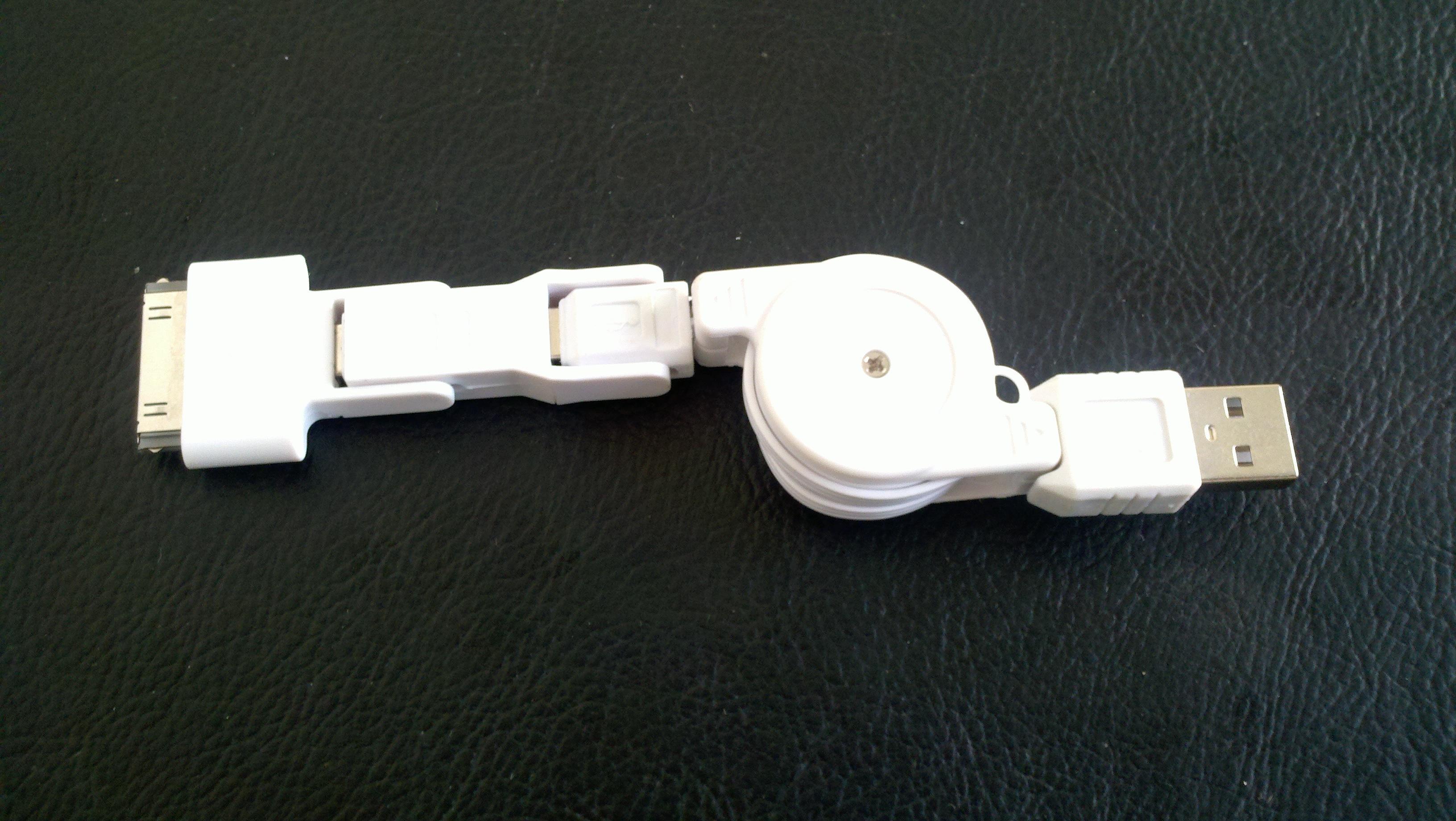 供应手机充电连接线 3合1摩托