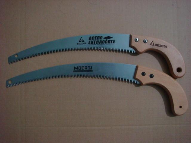 品质卓越 价格兼优厂家供应木柄弯锯 园林手锯 折叠手锯