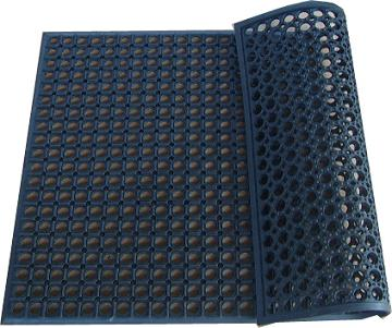 工业橡胶地垫,工业橡胶垫,工业车间橡胶垫(图) - 青岛