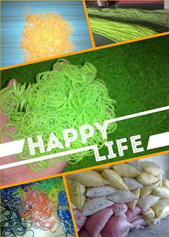 東莞興飛宇廠家直銷硅膠橡皮筋、彩色橡皮筋、熒光橡皮筋