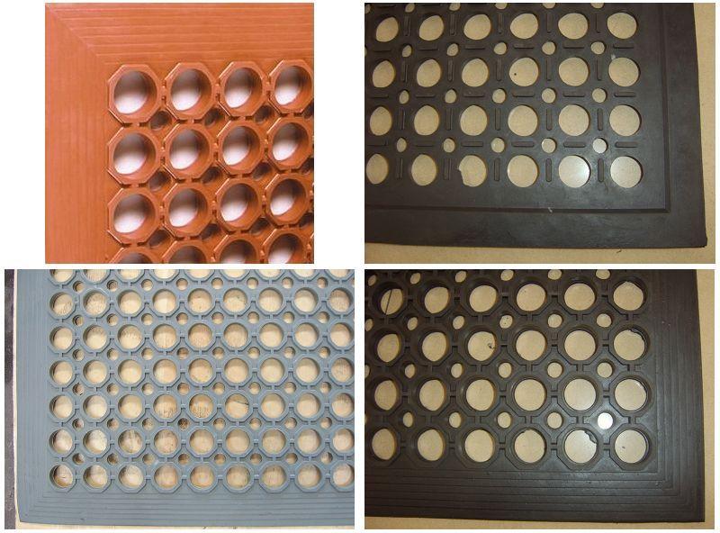 廠家批發疏水耐油橡膠墊,防滑橡膠墊,抗疲勞橡膠多孔地墊