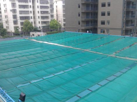 游泳池遮陽篷