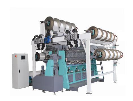 SGE228B型全自动双针床经编机      SGE228B-D型全自动双针床经编机(电子送经)         SGE228B-D/EL型全自动双针床经编机(电子送经、电子横移)