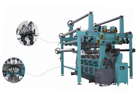SGE229型高速双针床经编机        SGE229-D型高速双针床经编机(电子送经)