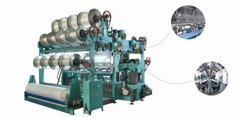 SGE288T型中绒双针床经编机            SGE288T-D型中绒双针床经编机(电子送经)