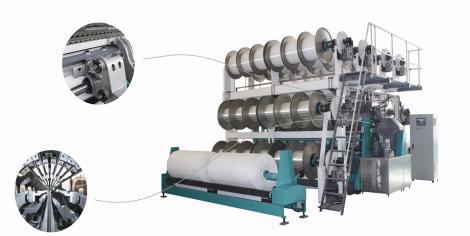 SGE2296(RD7)型高速双针床经编机SGE2296-D(RD7)型高速双针床经编机(电子送经)SGE2296-D/EL(RD7)型高速双针床经编机(电子送经、电子横移)