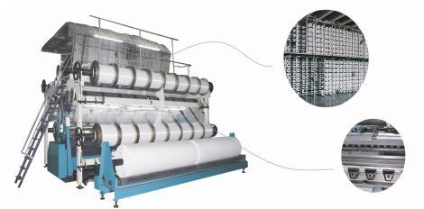 SGE228型中长绒双针床经编机       SGE228-D型中长绒双针床经编机(电子送经)