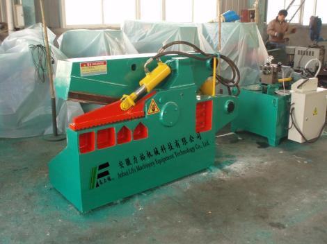 q43-63t鳄鱼式剪板机,废金属剪切机制造商