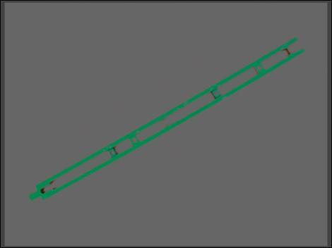 加强弦杆321钢桥