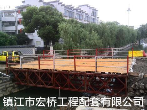 钢桥案例吴江中山南路履泰桥改造