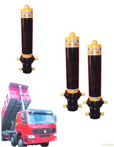 自卸车液压油缸图片