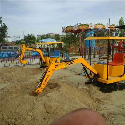 游乐儿童挖掘机