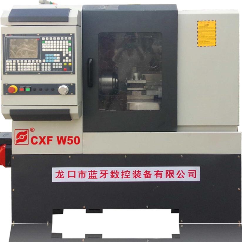 CXFK-W40X数控车六角车床-可车铣扁/四方/六方工件