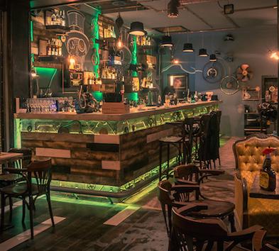 后现代酒吧设计风格-苏州酒吧设计-苏锦堂装饰设计